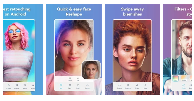 Facetune2 - Editor de fotos con filtros de belleza