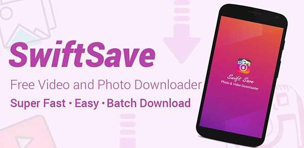 Swift Save Apps para Descargar Fotos de Instagram para Android 6