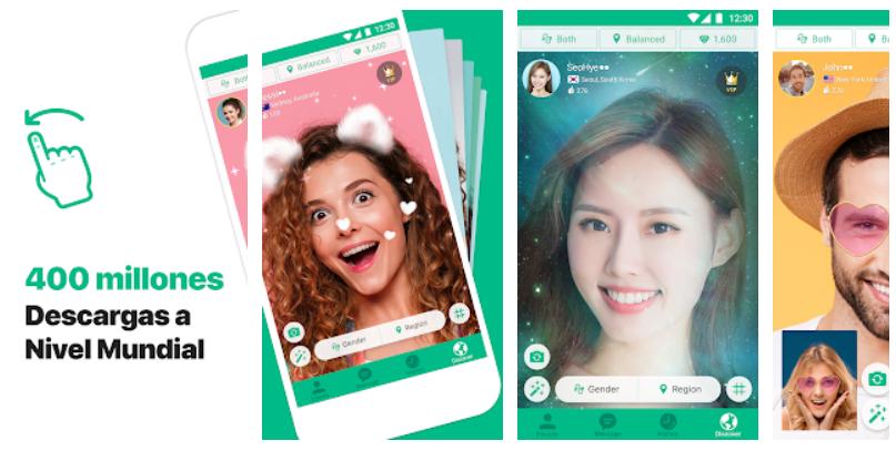 Azar-Video Chat y Mensajes