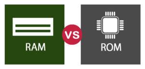 memoria ram vs rom