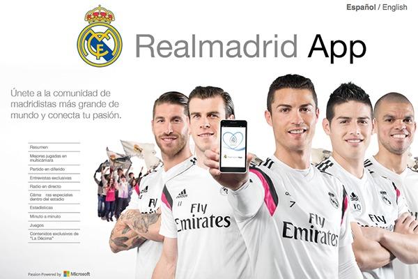RealMadrd App 8 Mejores Apps para Ver Fútbol para iPhone
