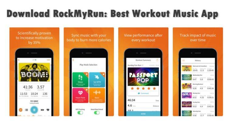 RockMyRun Top 8 Estupendas Apps para Descargar Musica
