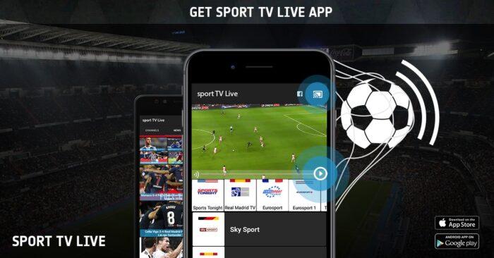 Sports TV Live 8 Mejores Apps para Ver Fútbol para iPhone