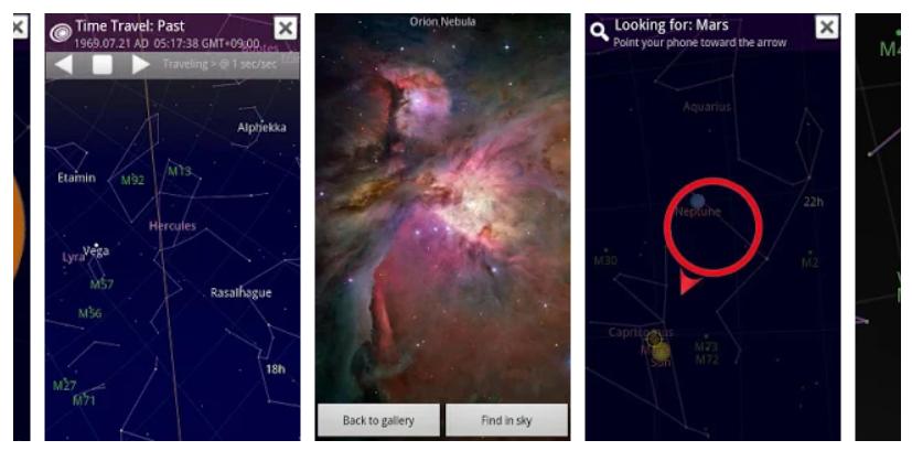 Sky Map - Planetario portátil