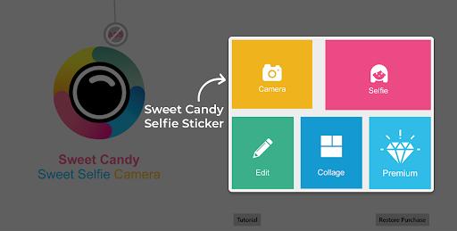 Sweet Selfie - Mejor editor de fotos y cámara