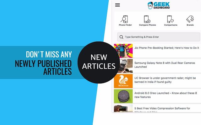 Geek Dashboard Mejores Apps Noticias para Móviles iOS y Android