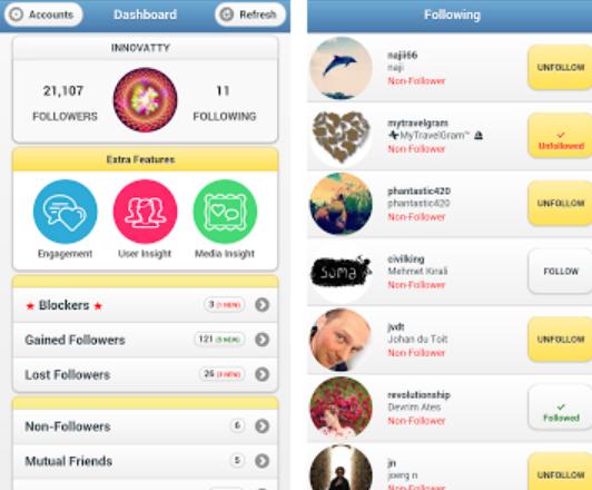 Instafollow Mejores Apps para Saber Quién Deja de Seguirte en Instagram