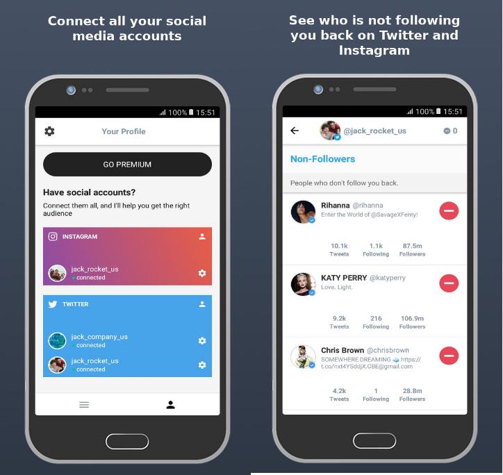 NoMeSigue Mejores Apps para Saber Quién Deja de Seguirte en Instagram