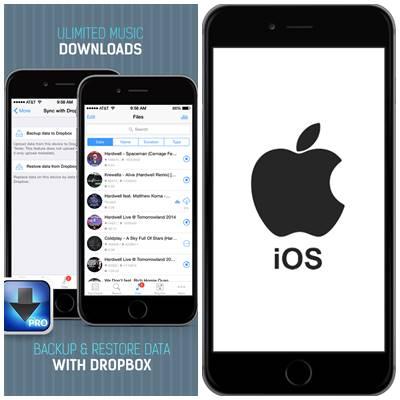 iDownloader TOP 5 Aplicaciones para Descargar Música Gratis para iPhone
