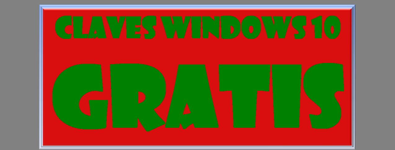 Claves de Windows 10