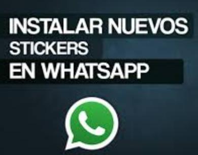 Instalar Stickers en WhatsApp