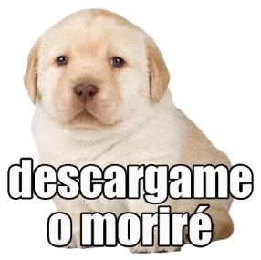 Stickers del Perrito Triste