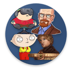 Tv Series Stickers for Whatsapp