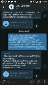 uploader telegram