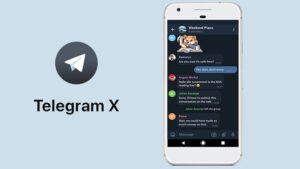 TELEGRAM X EN IOS