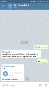 Text To Speech Bot