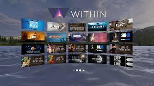 mejores apps de realidad virtual - within