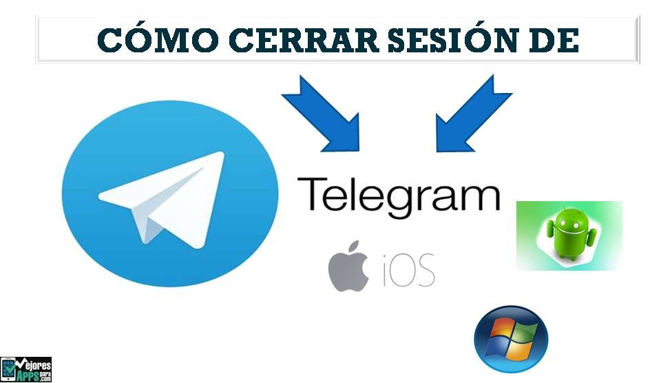 Cómo Cerrar Sesión de Telegram