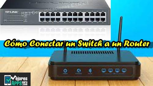 Cómo Conectar un Switch a un Router