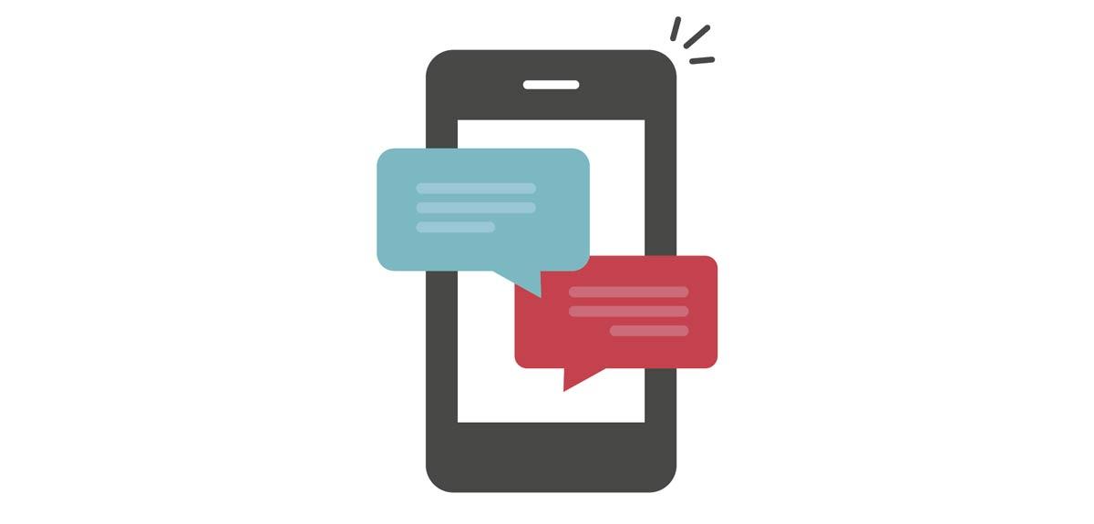 Chat de Textos y Datos Compartidos